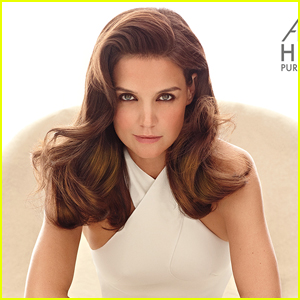 Katie Holmes Looks Glamorous & Hot in Second Alterna Haircare Campaign ...