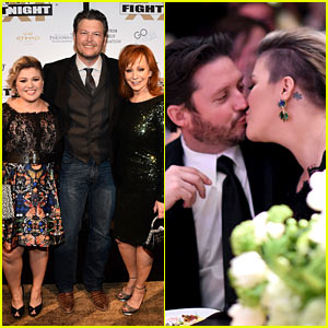 Kelly Clarkson & Her Hubby Like to Kiss, Not 'Fight'!
