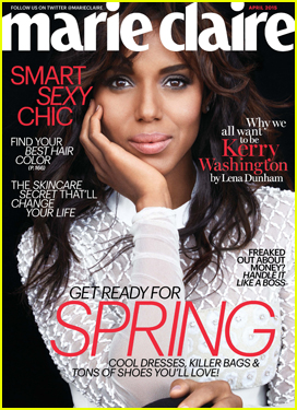 Kerry Washington Admits Being Less Private Early in Her Acting Career