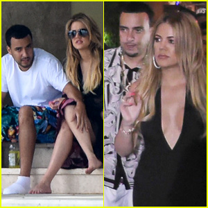 Khloe Kardashian & French Montana Keep Cozy in Miami