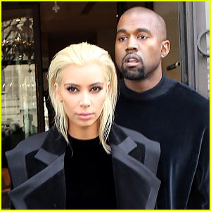 Kim Kardashian Debuts Platinum Blonde Hair!