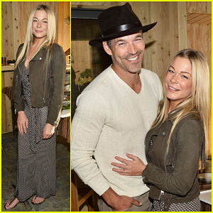 LeAnn Rimes & Hubby Eddie Cibrian Have Charitable Afternoon at Project Angel Ahead of Soccer Game!