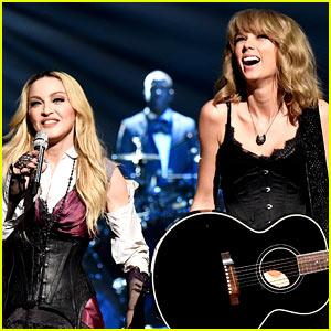 Madonna & Taylor Swift's iHeartRadio Performance! (Video)