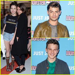 Maia Mitchell Has a 'Teen Beach' Throwback with Just Jared & Monster High!