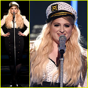 Meghan Trainor Sails Away for iHeart Performance! (Video)