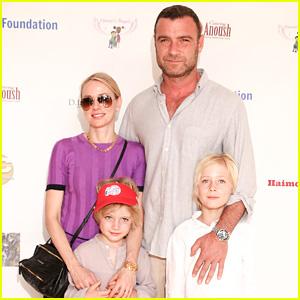 Naomi Watts & Liev Schreiber Bring Sons Sasha & Samuel to Djanai's Angels Charity Event