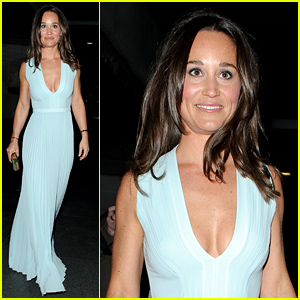 Pippa Middleton Shows Off Her Curves In an Evening Dress