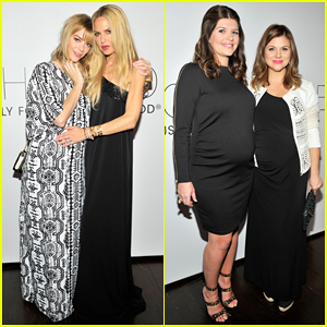 Pregnant Jaime King & Casey Wilson Help Rachel Zoe Celebrate Her 'A Pea In The Pod' Maternity Collaboration!