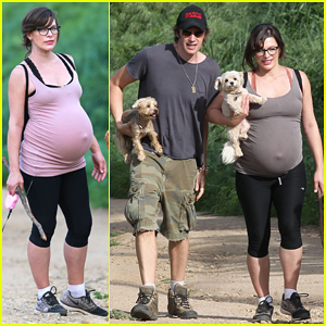 Pregnant Milla Jovovich Continues Her Hiking Adventures with Hubby Paul W.S. Anderson!