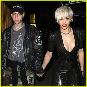 Rita Ora & Boyfriend Ricky Hilfiger Make It A 'Nice Guy' Night Out