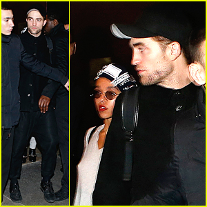 Robert Pattinson & FKA twigs Leave Her Paris Concert Together