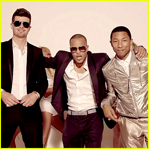 Robin Thicke Echoes Pharrell's Statement on Losing Lawsuit
