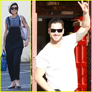 Rumer Willis & Val Chmerkovskiy Samba Their Saturday Away