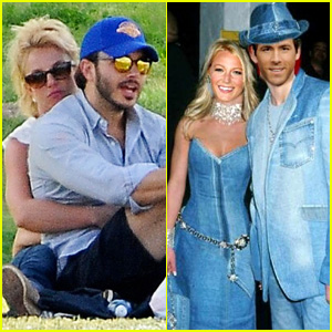 Ryan Reynolds Photoshops Himself & Blake Lively on Old Photo of Justin Timberlake & Britney Spears!