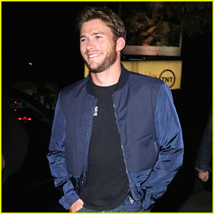 Scott Eastwood Shows Off His Handsome Smile for a Night Out