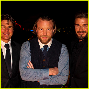 Tom Cruise Joins David Beckham at Haig Club Residency