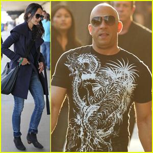 Vin Diesel Debuts New 'Furious 7' Clip Starring Paul Walker on 'Jimmy Kimmel Live' - Watch Here!