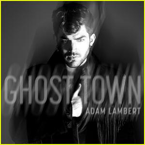 Adam Lambert Debuts New Single, 'Ghost Town' - Watch Lyric Video Here!