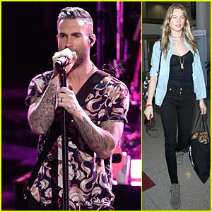 Adam Levine & Maroon 5 Perform 'Sugar' on 'The Voice' - Watch Now!