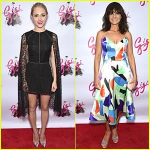 AnnaSophia Robb & Carla Gugino Stun at 'Gigi' Opening Night