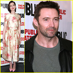 Anne Hathaway's Show 'Grounded' Gets Support From Hugh Jackman & Russell Crowe