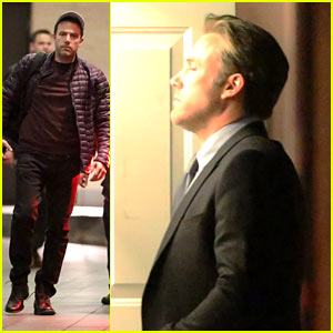 Ben Affleck Spotted on 'Suicide Squad' Set in Toronto!
