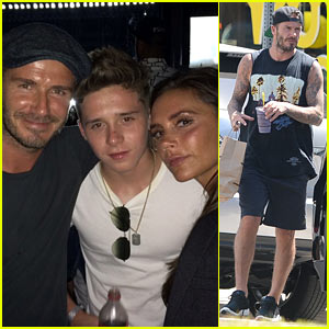 Brooklyn Beckham Shares New Pic with Parents David & Victoria!