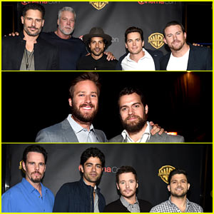 CinemaCon Basically Was Hollywood's Hot Men Convention!