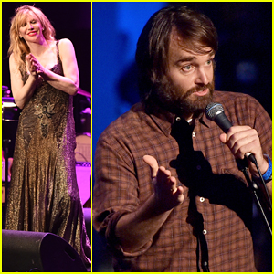 Courtney Love & Will Forte Perform for Charity at DLF's Live Allen Ginsberg Celebration!