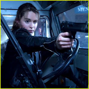Emilia Clarke Is Totally Bad-Ass in New 'Terminator' Trailer!