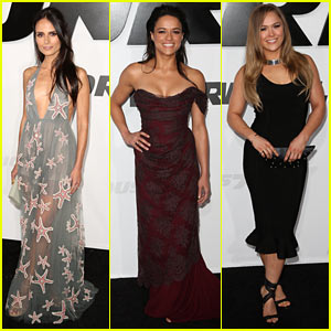 Furious 7's Beautiful Ladies Heat Up Premiere Red Carpet!