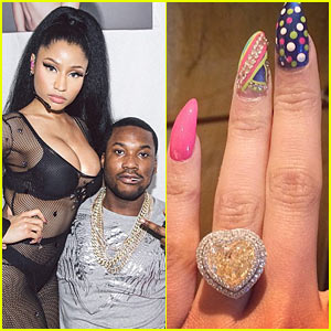 Is This Nicki Minaj's Engagement Ring from Meek Mill?