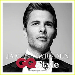 James Marsden Gets Suited Up in a Sexy Behind-the-Scenes Look at His GQ Shoot (Exclusive)