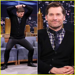 Jimmy Fallon Teaches Nikolaj Coster-Waldau a Dance to Embarrass His Kids - Watch Here!