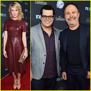 Josh Gad & Billy Crystal Team Up at 'The Comedians' Premiere!