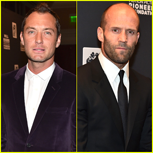 Jude Law & Jason Statham Get Their 'Spy' On at CinemaCon!