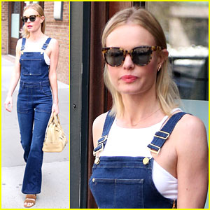 Kate Bosworth Shows Off Her Tiny Figure in Overalls