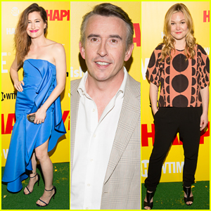 Kathryn Hahn & Steve Coogan Get 'Happyish' in NYC - Watch Full First Episode Here!