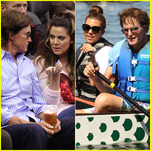 Khloe & Kourtney Kardashian Tweet Support For Bruce Jenner