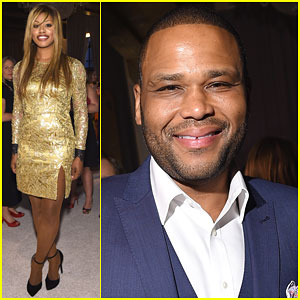 Laverne Cox Shines at Time & People's White House Correspondents' Party
