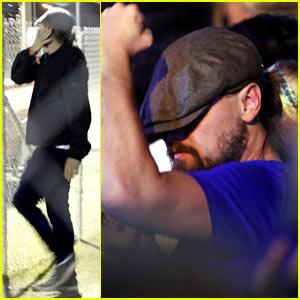 Leonardo DiCaprio Brings Back Dance Moves to Coachella!