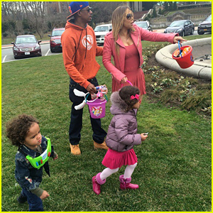 Mariah Carey & Nick Cannon Reunite for Easter with Their Kids!
