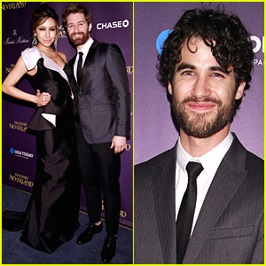 Matthew Morrison & Darren Criss Have 'Glee' Reunion at 'Finding Neverland' Opening Night After Party