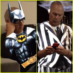 Michael Keaton (Sorta) Brings Back Batman & Beetlejuice Characters for 'Saturday Night Live' (Videos)