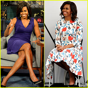 Michelle Obama Makes Her Final 'Letterman' Appearance!