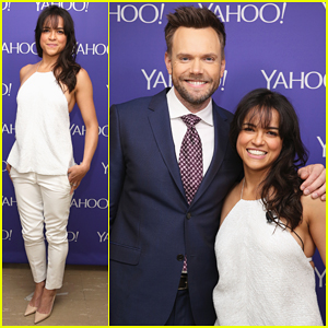 Michelle Rodriguez Announces Her New Autos Series 'Riding Shotgun' at Yahoo Digital Content NewFronts 2015!