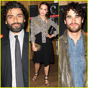 Oscar Isaac & Alicia Vikander Premiere 'Ex Machina' in NYC!