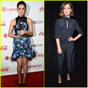 Rose Byrne Screens 'Spy' at CinemaCon With Male Co-Stars