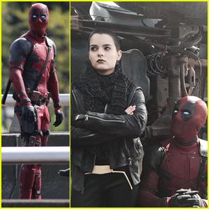 Ryan Reynolds Shares First 'Deadpool' Look at Brianna Hildebrand as Negasonic Teenage Warhead