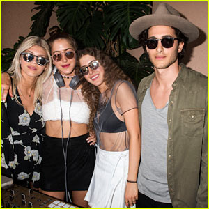 Sama, Haya, & Fai Khadra Entertain the Crowd at Just Jared's Festival Party Presented by Sonix!